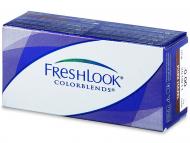 Farebné kontaktné šošovky - kozmetické očné šošovky - zmena farby očí - FreshLook ColorBlends  - dioptrické (2šošovky)