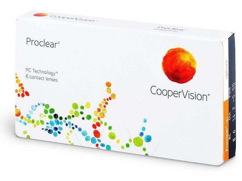 Proclear Compatibles Sphere (6šošoviek) - Mesačné kontaktné šošovky