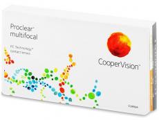 Proclear Multifocal (3šošovky) - Multifokálne kontaktné šošovky