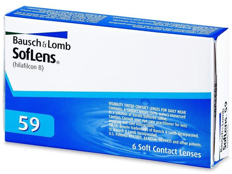 SofLens 59 (6šošoviek) - Mesačné kontaktné šošovky