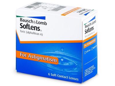 Torické kontaktné šošovky - SofLens Toric (6šošoviek)