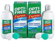 Kontaktné šošovky Alcon - Roztok OPTI-FREE Express 2 x 355ml