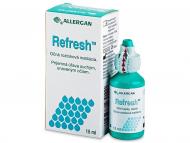 Očné kvapky - kvapky pre zvlhčenie očí - umelé slzy - Očné kvapky Refresh 15ml