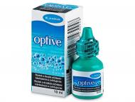 Očné kvapky - kvapky pre zvlhčenie očí - umelé slzy - Očné kvapky OPTIVE 10ml