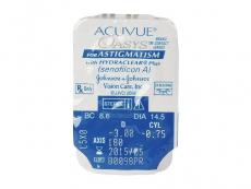 Acuvue Oasys for Astigmatism (6šošoviek) - Vzhľad blistra so šošovkou