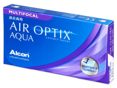 Air Optix Aqua Multifocal (3šošovky) - Multifokálne kontaktné šošovky