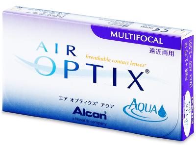 Air Optix Aqua Multifocal (3šošovky)