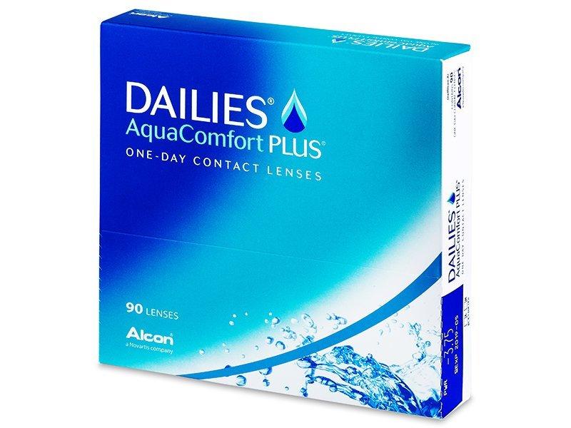 Dailies AquaComfort Plus (90šošoviek) - Jednodenné kontaktné šošovky