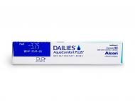 Dailies AquaComfort Plus (90šošoviek) - Náhľad parametrov šošoviek