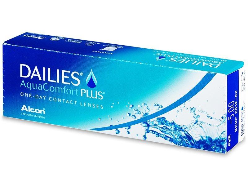 0f58f3a37 Dailies AquaComfort Plus (30 šošoviek). 14.99 €. Jednodenné kontaktné  šošovky ...