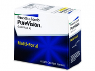 Multifokálne kontaktné šošovky - PureVision Multi-Focal (6šošoviek)