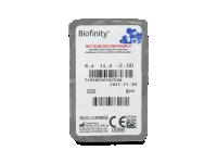 Biofinity (6šošoviek) - Vzhľad blistra so šošovkou