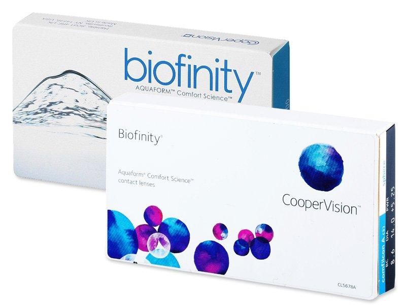 Starší vzhľad - Biofinity (6šošoviek)