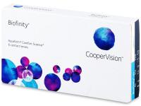 Biofinity (6šošoviek) - Mesačné kontaktné šošovky