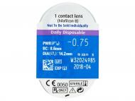 SofLens Daily Disposable (30šošoviek) - Vzhľad blistra so šošovkou