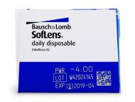SofLens Daily Disposable (30šošoviek) - Náhľad parametrov šošoviek