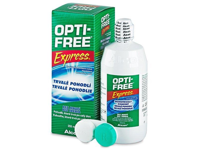Roztok OPTI-FREE Express 355ml  - Čistiaci roztok