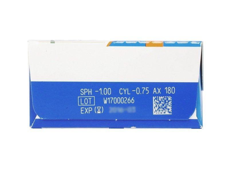 SofLens Daily Disposable Toric (30šošoviek) - Náhľad parametrov šošoviek