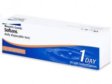 SofLens Daily Disposable Toric (30šošoviek) - Torické kontaktné šošovky