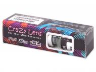 Farebné kontaktné šošovky - kozmetické očné šošovky - zmena farby očí - Crazy GLOW (2šošovky)