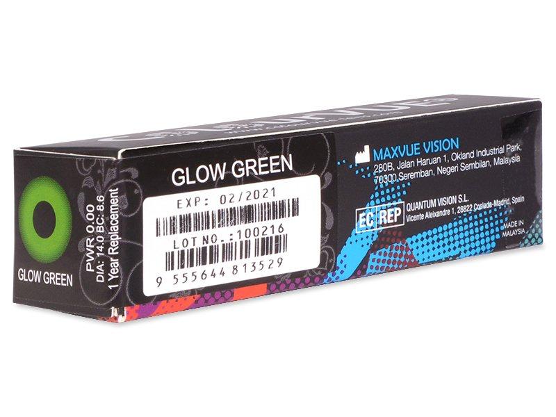Crazy GLOW (2šošovky) - Náhľad parametrov šošoviek