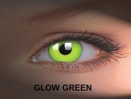 Crazy GLOW (2šošovky) - Glow Green