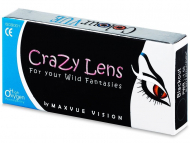 Farebné kontaktné šošovky - kozmetické očné šošovky - zmena farby očí - Crazy ColourVUE - dioptrické (2šošovky)
