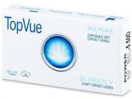 Kontaktné šošovky lacno - TopVue Bi-weekly (6šošoviek)