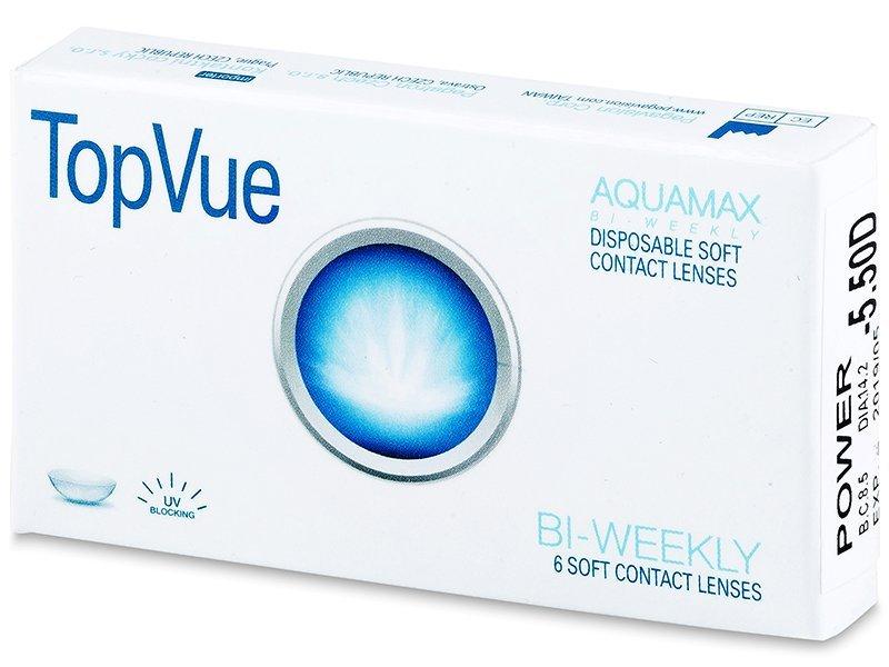 Štrnásťdenné kontaktné šošovky - TopVue Bi-weekly (6šošoviek)