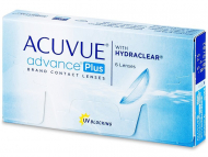 Kontaktné šošovky Johnson and Johnson - Acuvue Advance PLUS (6 šošoviek)