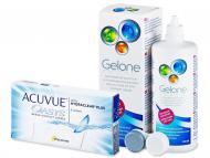 Kontaktné šošovky lacno - Acuvue Oasys (6šošoviek) + roztok Gelone 360ml