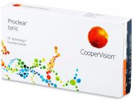 Mesačné kontaktné šošovky - Proclear Toric (6šošoviek)