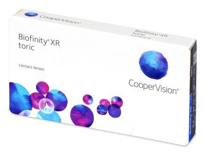 Torické kontaktné šošovky - Biofinity XR Toric (3 šošovky)