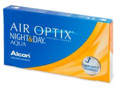 Air Optix Night and Day Aqua (6šošoviek) - Mesačné kontaktné šošovky