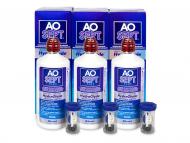 Kontaktné šošovky Alcon - AO SEPT PLUS HydraGlyde 3 x 360ml